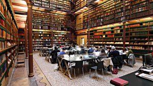 Amsterdam Rjiksmuseum, Bibliothek