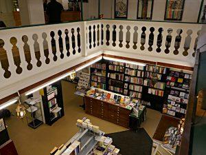 Blick von der Galerie in den vorderen Verkaufsraum