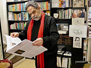Der Buchhändler Alain Bittar