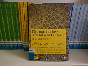 Ein Buch für Afghanen, die Deutsch lernen