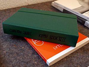 Buch aus Archiv, Cameron Jamie: Kopbf Book XIII