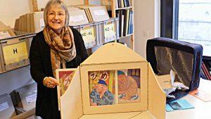 Ruth Fassbind, Direktorin des Bibliocenters Solothurn