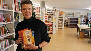 Franziska Baetcke, Direktorin der Bibliomedia Schweiz,