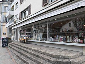 Buchhandlung Bellini von aussen