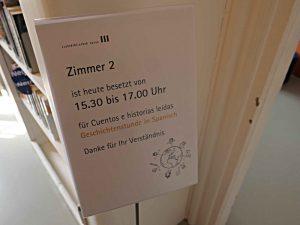 Stadtbibliothek Aarau: Veranstaltungshinweis