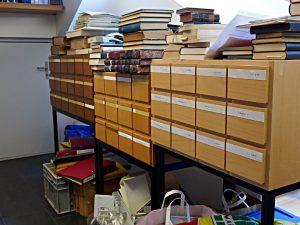 Zettelkasten, Büchertürme