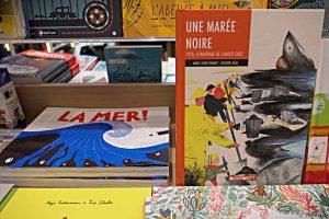 Buchtitel: La mer! und Une Marée noire