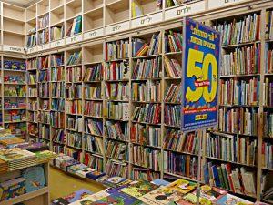 Die Kinderbuchabteilung
