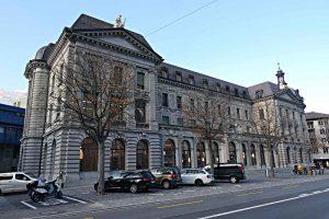 Das alte Postgebäude von aussen