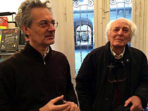 Verleger in zweiter und dritter Generation: Livio und Libero Casagrande (v. l.)