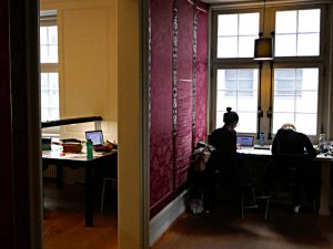 Arbeitsräume im Sozialarchiv