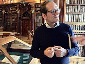 Cornel Dora, Leiter der Stiftsbibliothek