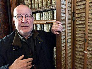 Ivo Ledergerber, Führer in der Stiftsbibliothek