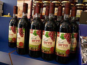 Traubensaft aus Israel