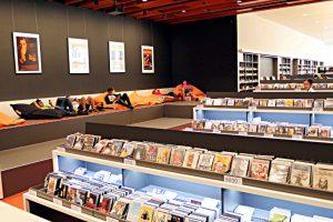 Zentralbibliothek - Ort zum Entspannen in der Mediathek