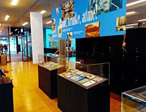 Mini-Ausstellung zu Kurorten in der Schweiz
