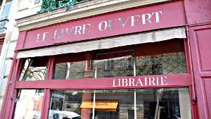 Le Livre Ouvert - Buchhandlungsname