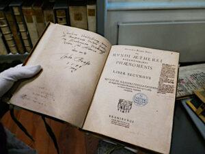 Scultetus von Tycho Brahe gewidmetes Buch