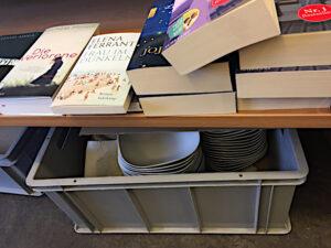 """Geschirr für die """"Literatur nach Feierabend"""""""