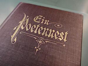 Stöcklins Buch von 1922 - Ein Poetennest