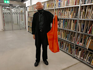 Felix Falkner demonstriert den Shlep